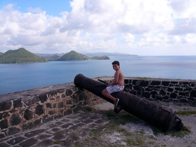 Pigeon Island St Lucia